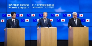 Japan & EU eager to promote free trade as US hardens its protectionist stance