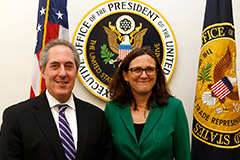 U.S. Trade Representative Froman and EU Trade Commissioner Malmström
