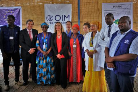 Niger: Mogherini meets vulnerable migrants who speak about their stories and vital EU-IOM support