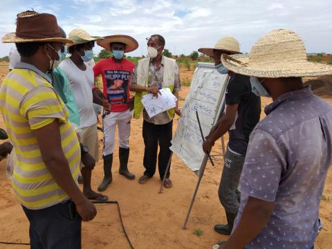 ETM PoCs Agricultural Skill Training Farm-up Project