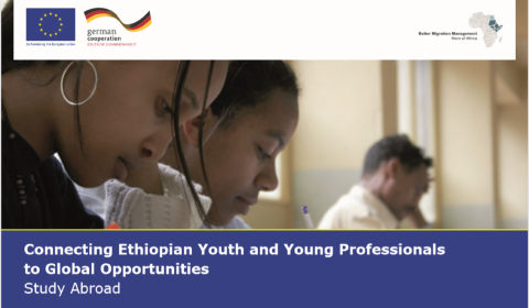The BMM has developed a booklet aimed at Ethiopian university students and young professionals who may be interested in continuing their education abroad.