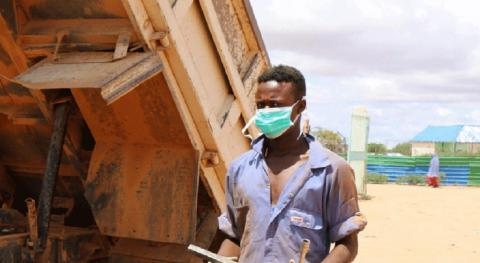 Ali is a young Somali following his passion thanks to the BORESHA TVET program