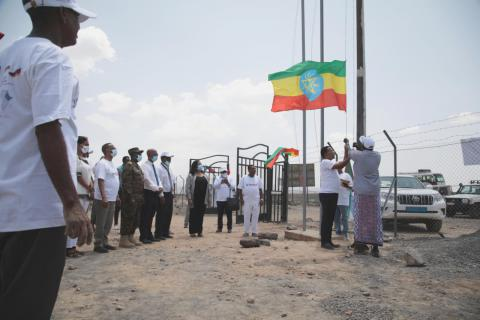 A new point of entry on the Ethiopia-Djibouti border has been opened close to the town of Balho at the Northern border to Djibouti on 20. September
