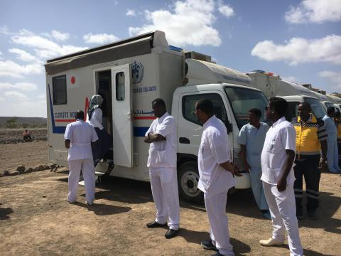 Horn of Africa, Health, BMM project, Djibouti, migrants, mobile clinic