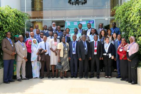 Family picture - ILOT training held in Addis Ababa in February 2018 - @ILO