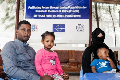 Leyla and Fuad speak about their experience as returnees to Somalia - @IOM/Christian Jepsen