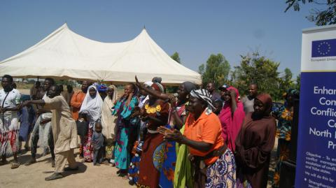 Farmers and Herders in Bole Community of Yola South LGA, Adamawa State sign a Peace Accord.