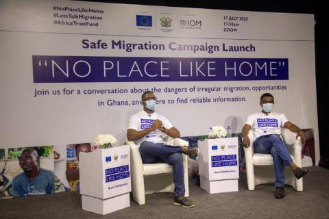 """""""No Place Like Home"""" Nationwide Campaign on Safe Migration Launched in Ghana"""