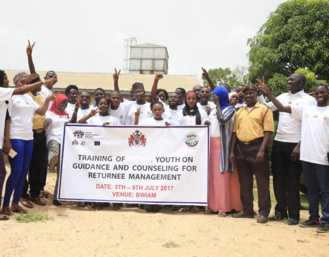 Training on Guidance and Counselling promises new hope for returnees