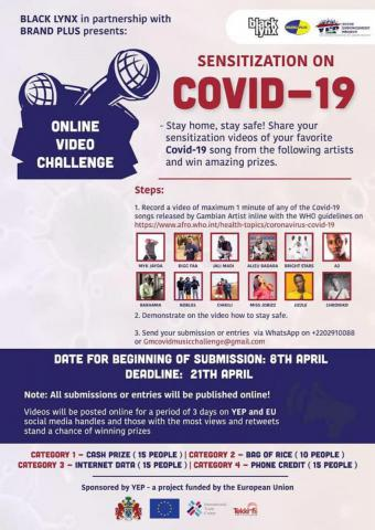 The Youth Empowerment Project launches a poetry challenge to spread information on COVID 19