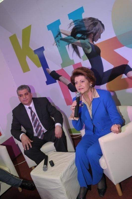 Commissioner Androulla Vassiliou in Nicosia