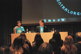 Youth on the Move campaign in Stokholm, Sweden